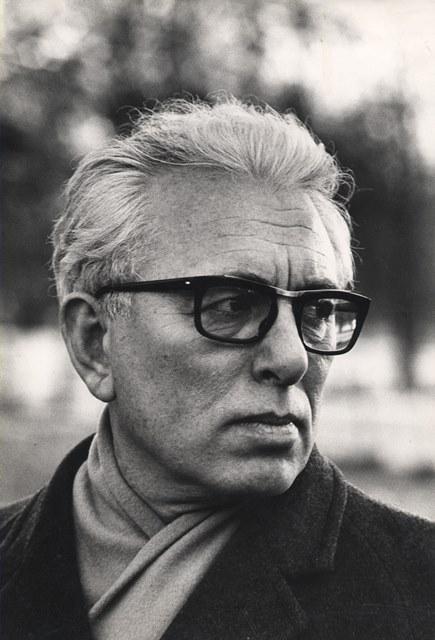 Franco Fortini (foto: Cesare Viviani, 1966; Archivio Franco Fortini, Siena)